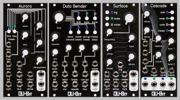 Qu-Bit Aurora, Data bender, Surface und Cascade
