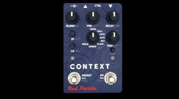 Red Panda Context V2 Reverb Effekt Pedal