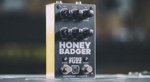 RedBeard Effects Honey Badger Octave Fuzz Front