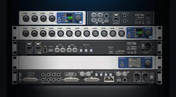 RME 12Mic, M-1610 Pro, AVB-Tool, ADI-2 Pro FS R Black Edition