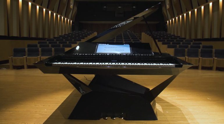 Roland GPX-F1 Facet Grand Piano