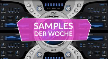 Samples der Woche: Aquamarine, EDG-20 Drums, Templetone