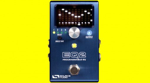 Source Audio EQ2 Effekt PEdal Front