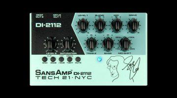 Tech21 Geddy Lee Sansamp DI-2112 Teaser