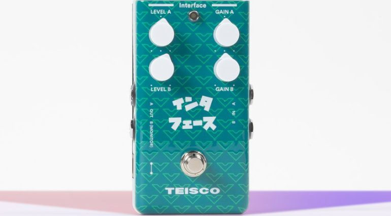 Teisco Interface Pedal Front
