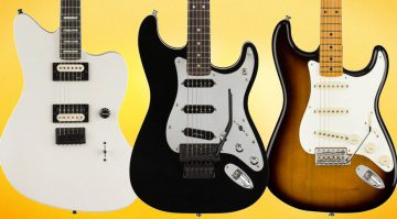 Tom Morello, Jim Root und Eric Johnson Signatures
