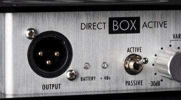 Warm Audio Direct Box Passive Active Front Teaser