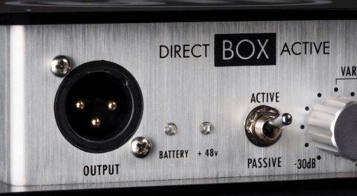 Warm Audio Direct Box Passive Active Front Teaser