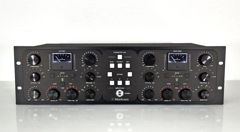 NAMM 2020: WesAudio ngBusComp: VCA bus Kompressor mit Plug-in Kontrolle
