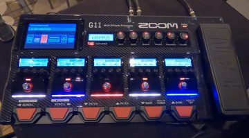Zoom G11 Multi Effekt Pedal Front
