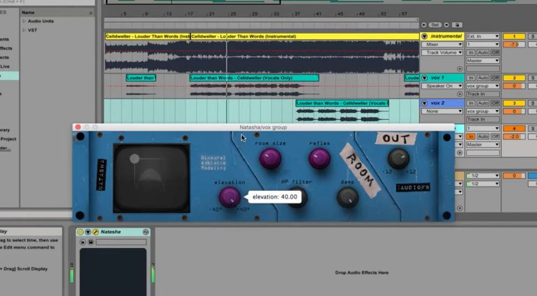 Kostenlos: Audiofusion:Bureau Natasha - Binaural Ambience Modeling Plug-in