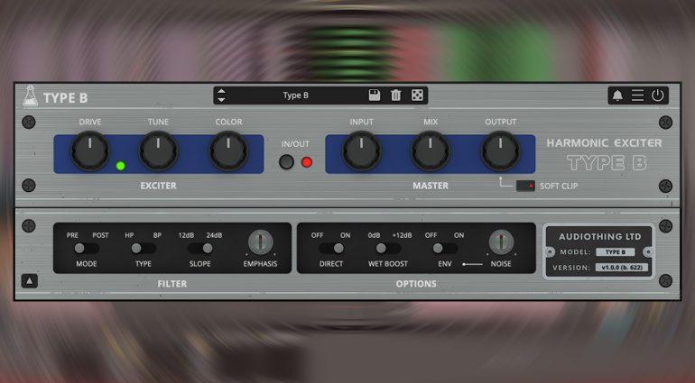 AudioThing Type B: eine Emulation des legendären Vintage Aphex Aural Exciter