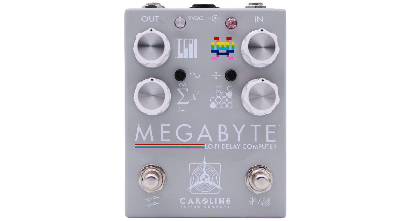 Caroline Guitar Company Megabyte Delay Effekt PEdal