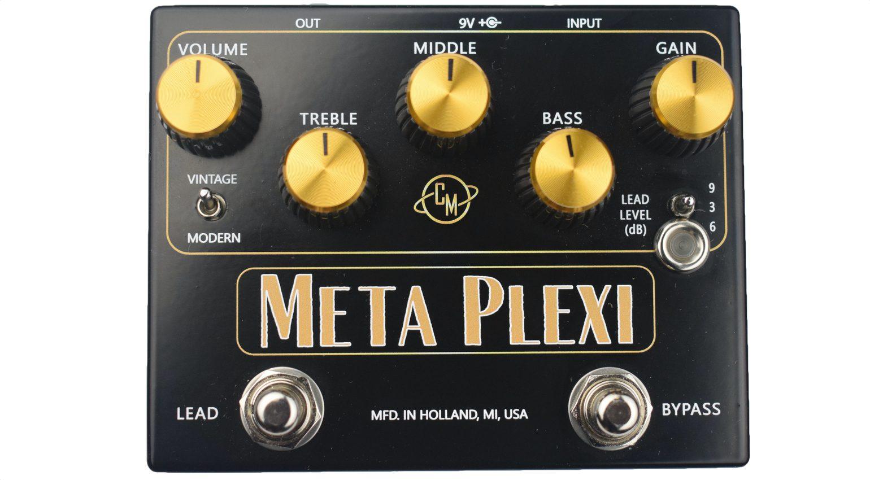 Cusack Music Meta Plexi Effekt Pedal Front