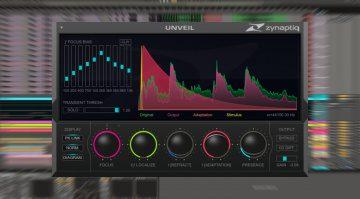 Deal: Zynaptiq Unveil: De-Reverberation und mehr Audiofokus zum Sonderpreis