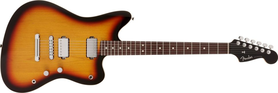 Fender Japan Modern Jazzmaster Sunburst Front