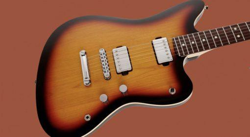 Fender Japan Modern Jazzmaster Sunburst Teaser