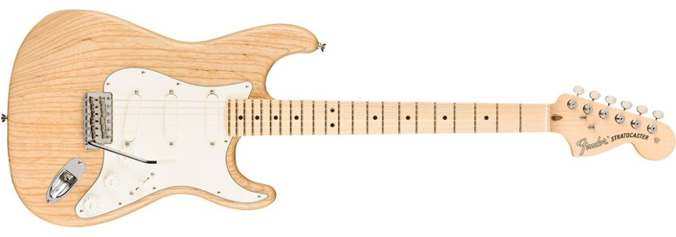 Fender limited edition Raw Ash American Performer Stratocaster