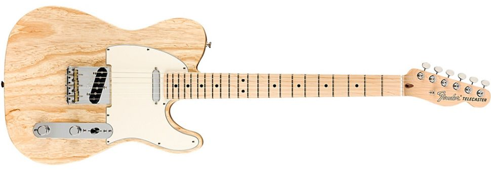 Fender limited edition Raw Ash American Performer Telecaster