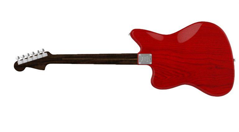 Fender Mod SHop Jazzmaster Rueckseite