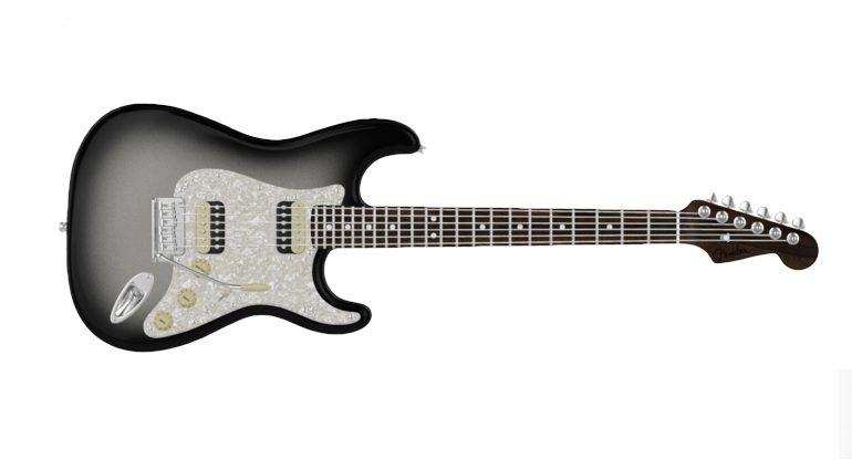 Fender Mod SHop Silverburst Stratocaster