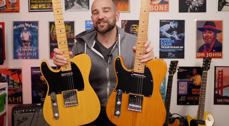 Fender Telecaster Harley Benton TE-52 Blindtest SHootout