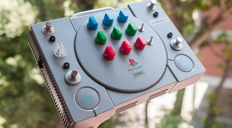 Ferri PedalStation 1 Effekt Pedal Playstation Front