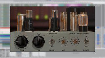 Fuse Audio Labs VPRE-2C: Vintage Tube Amplifier aus den Fünfzigern