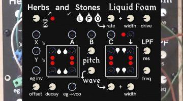 herbs and stones liquid foam