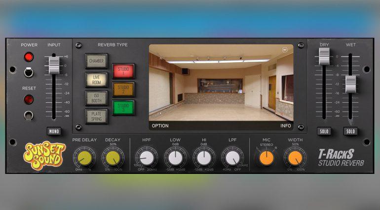 IK Multimedia T-RackS Sunset Sound Studio Reverb
