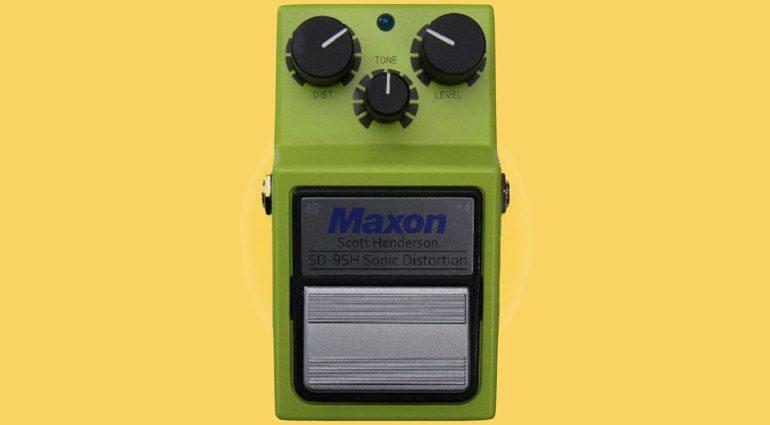 Maxon Scott Henderson SD 9SH Sonic Distortion