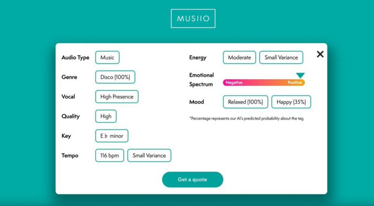 MUSIIO Audio Refernce Analysis APP