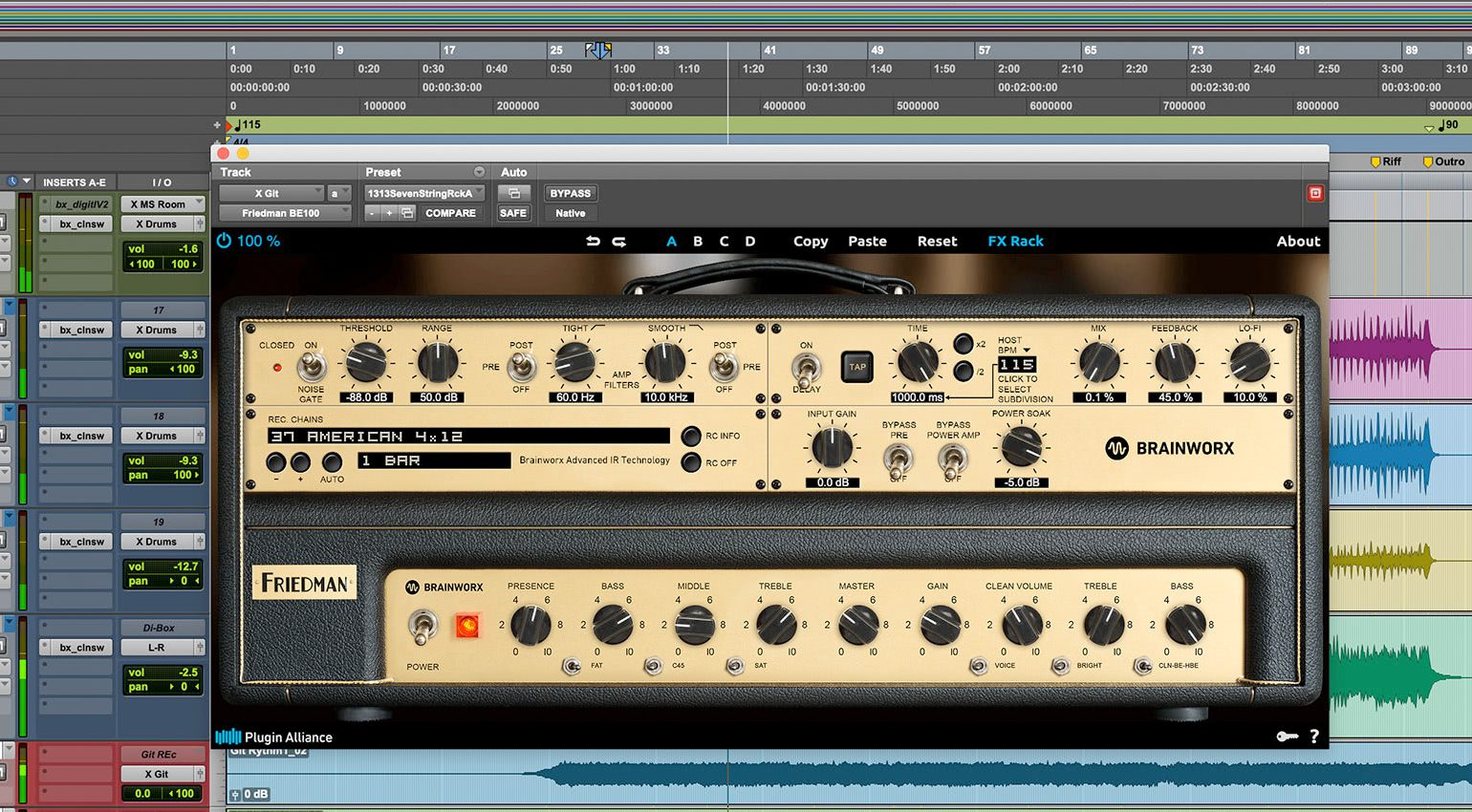 Plugin Alliance Friedman BE-100