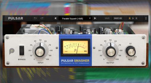 Pulsar Audio Smasher: 1176 Kompressor Plug-in für kurze Zeit kostenlos