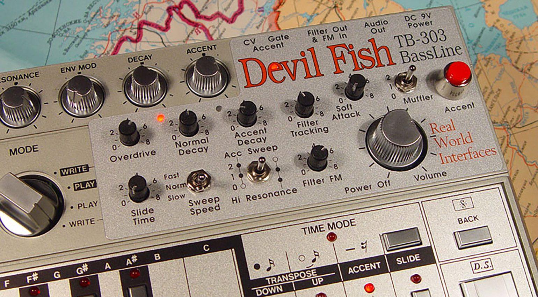 TB-303 Devil Fish Modifikation