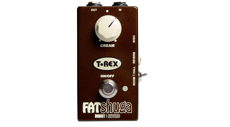 T-Rex Fat Shuga Overdrive Reverb Effekt Pedal