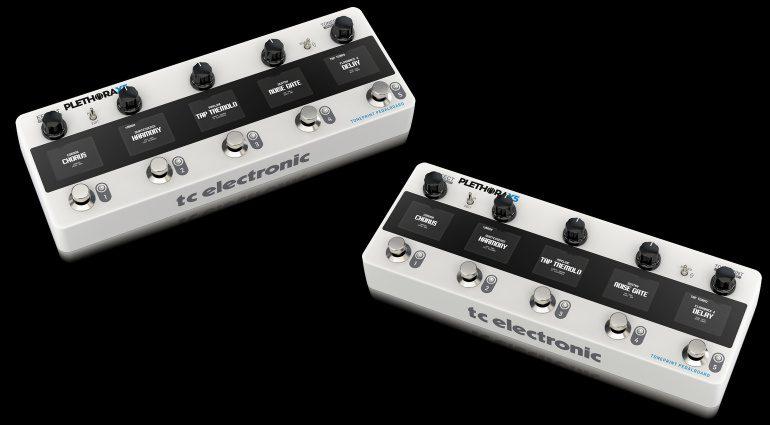 TC Electronic Plethora X5 Front Slant