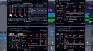 TC Electronic Icon Serie jetzt auch nativ ohne Controller erhältlich