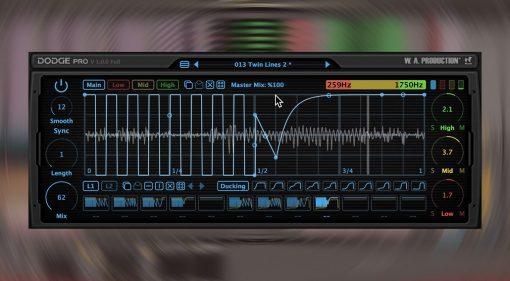 W.A. Production Dodge Pro: Multiband Gate und Ducking zum Einführungspreis
