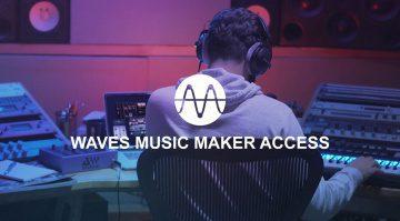 Waves Audio präsentiert neuen Music Maker Abo-Plan
