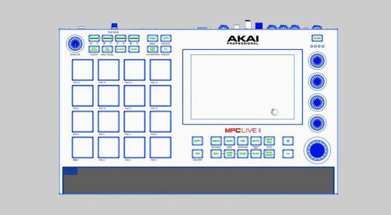 Akai MPC Live Mk2