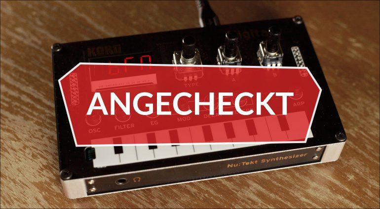 Angecheckt: Korg Nu:Tekt NTS-1 – DIY Synthesizer und Effekt ohne Löten