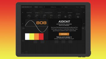 AudioKit Pro Sub Bass 808: Bass- und Kick-Synthesizer für 999 Dollar