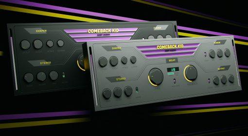 Baby Audio Comeback Kid: ein übersichtlich inspirierendes Delay Plug-in mit analogem Sound