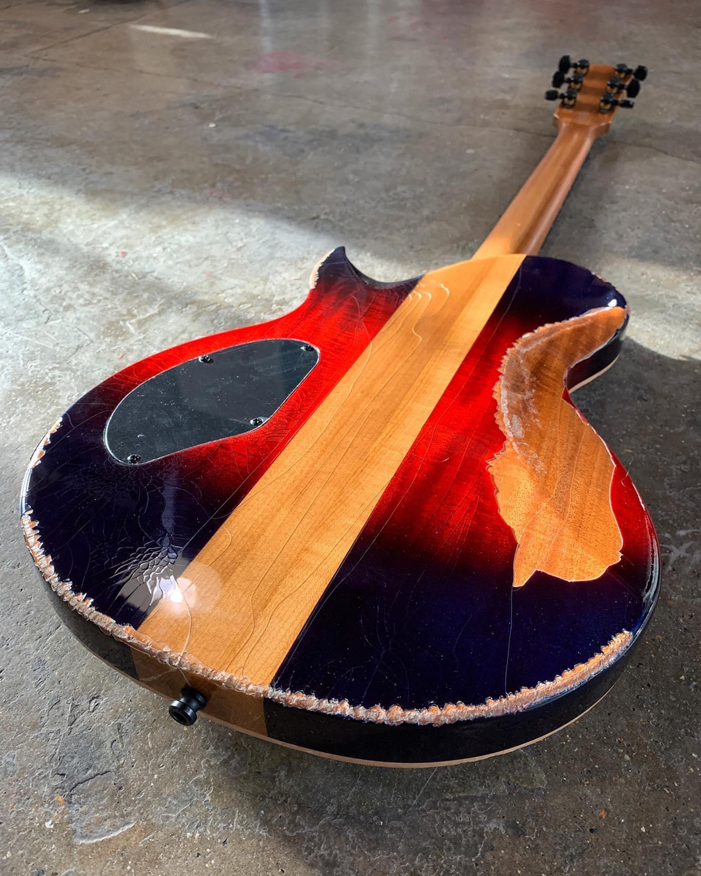 Chapman Guitars limited edition Battleworn ML2