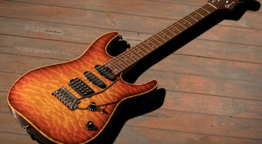 Charvel USA Select DK24 2PT Autumn Glow