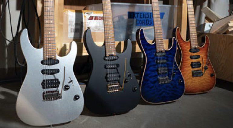 Charvel USA Select DK24 2PT models