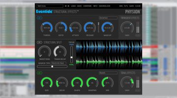 Deal: Eventide Physion - kreatives Special FX Plug-in mit über 70 Prozent Rabatt