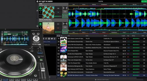 Denon Engine Prime v1.3.4 mag iTunes/Music/Catalina - und Streaming?