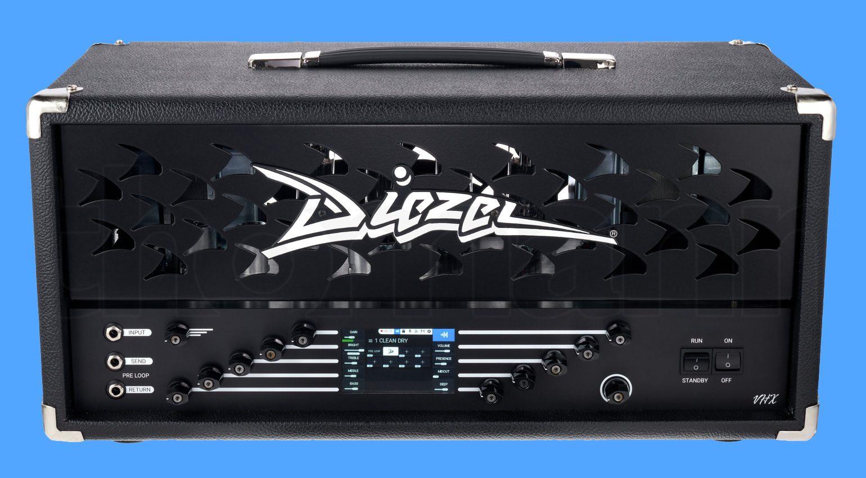 Diezel VHX Vollroehre Verstärker DSP UAD Front Teaser